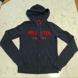 Hollister Women's Full Zip Hooded Sweatshirt - NWT